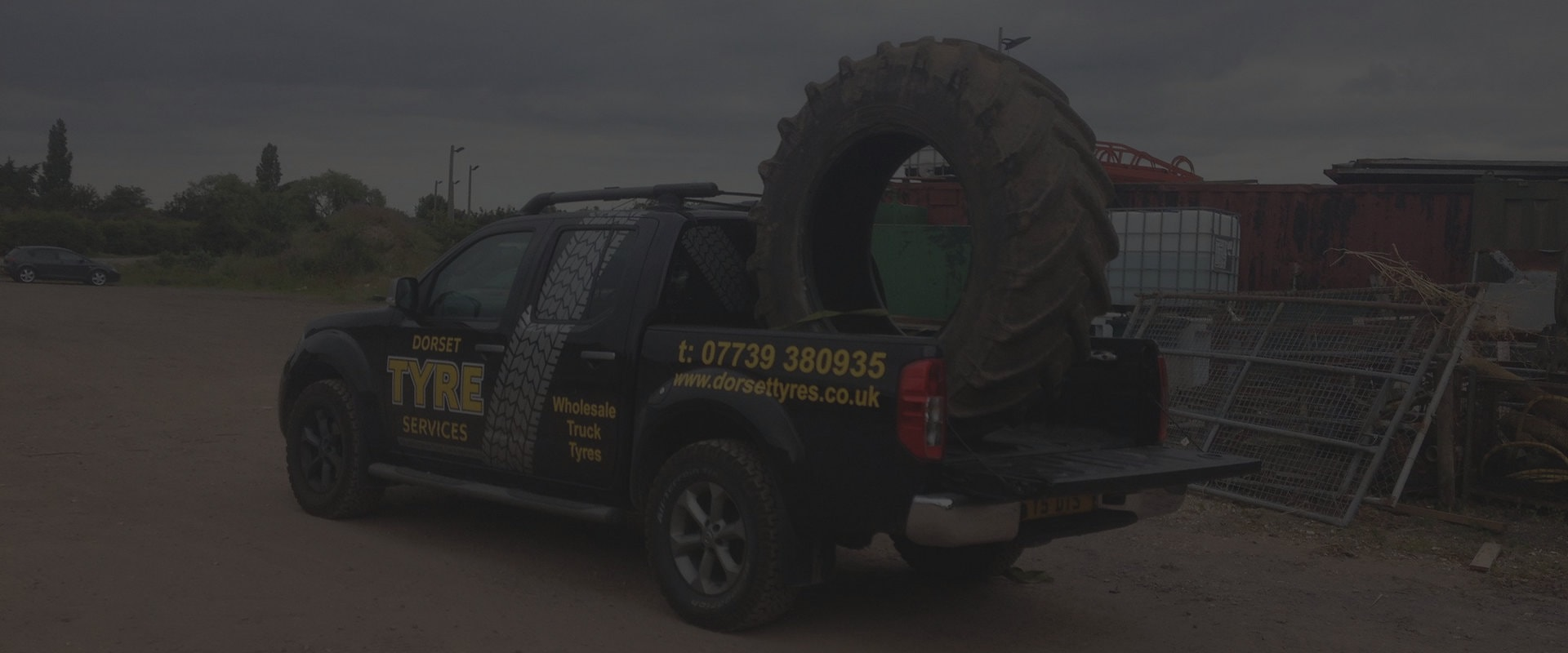 Dorset Tyre Services Company Vehicle